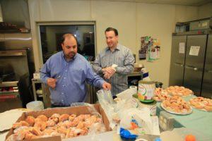 Brian Della Torre_Matt Lindenberg_Temple Israel Hanukkah party