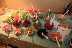 Temple Israel Ridgewood latke toppings_Hanukkah