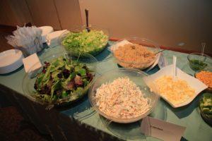 Temple Israel Ridgewood party food