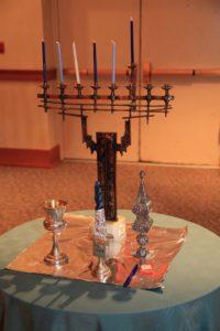 Menorah_havdalah set_Temple Israel Ridgewood