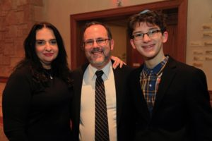 Rabbi David Fine and family_NJRA installation