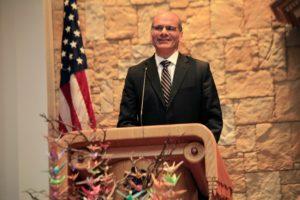 Rabbi Noam Marans at Temple Israel in Ridgewood