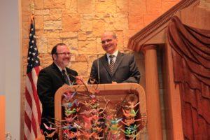 Rabbi David Fine_Rabbi Noam Marans_NJRA installation